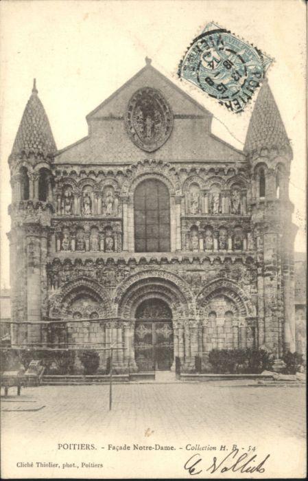 Poitiers Notre-Dame x