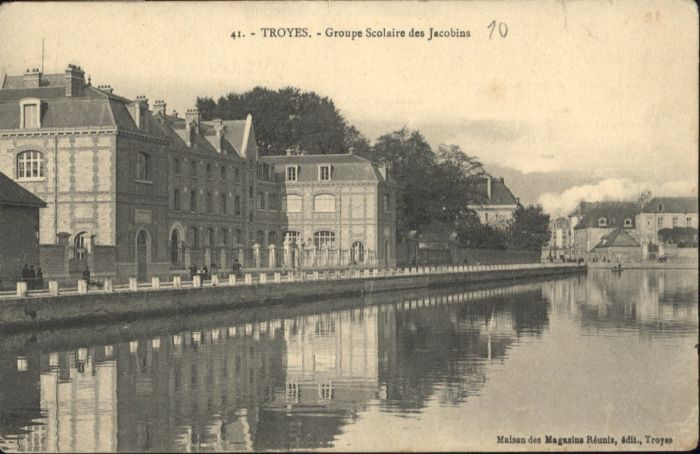 Troyes Groupe Scolaire Jacobins *