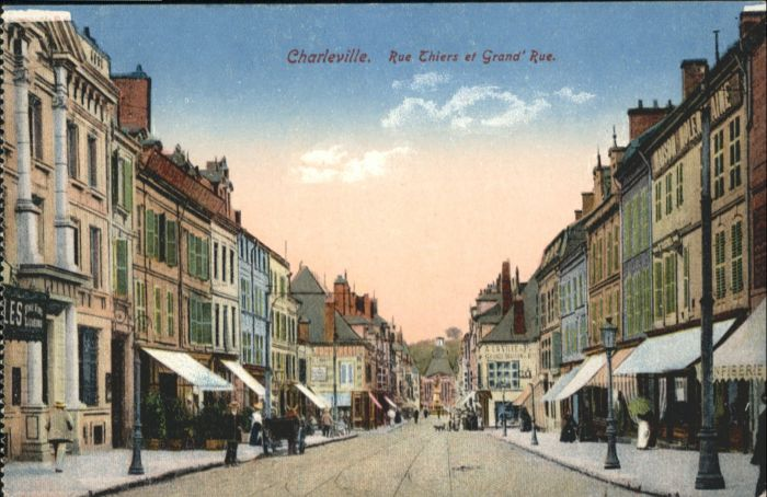 Charleville Rue Thiers Grand Rue *