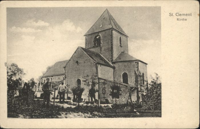 Saint-Clement Kirche  x