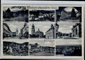 Waltershausen Waltershausen Hauptstrasse Rathaus Bahnhofstrasse Freibad * /  /
