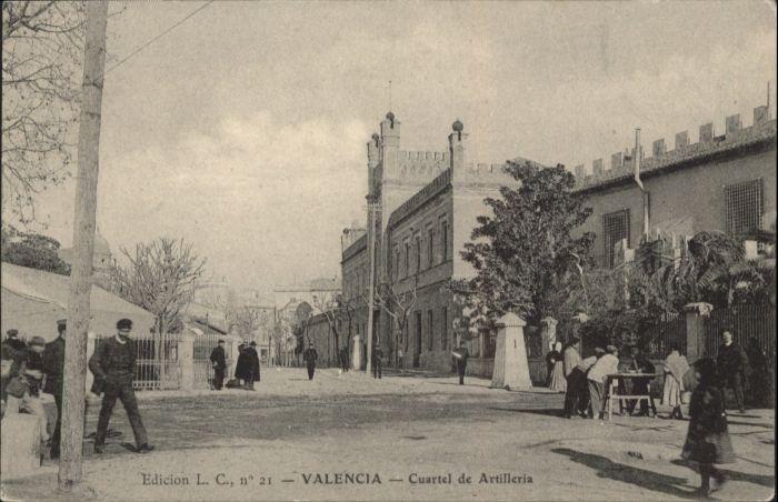 Valencia Cuartel Artilleria Kaserne *