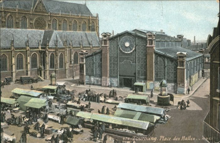 Tourcoing Place Halles *