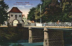 Hagenau Weissenburgertor *
