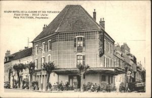 Dole Jura Grand Hotel Cloche Yoyageures Place Grevy x