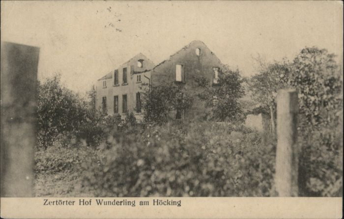 Hoecking Hof Wunderling Zerstoerung x