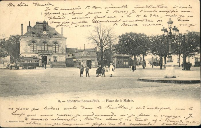 Montreuil Place Mairie x