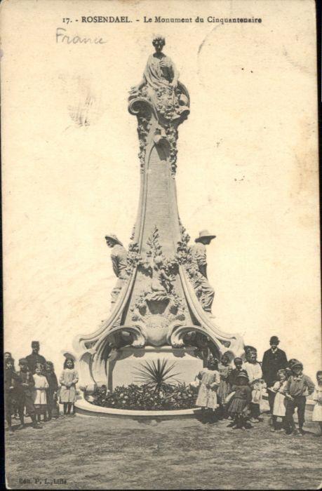 Rosendael Monument Cinquantenaire x