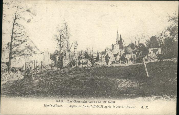 Steinbach Elsass Steinbach Elsass Alsace Bombardement Zerstoerung x /  /