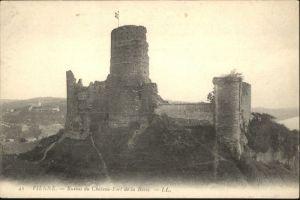 Vienne Ruines du Chateau-Fort de la Batie *