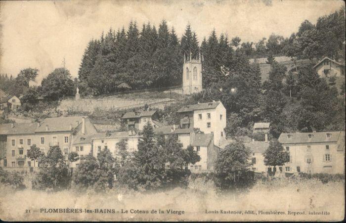 Plombieres-les-Bains Le Coteau de la Vierge *