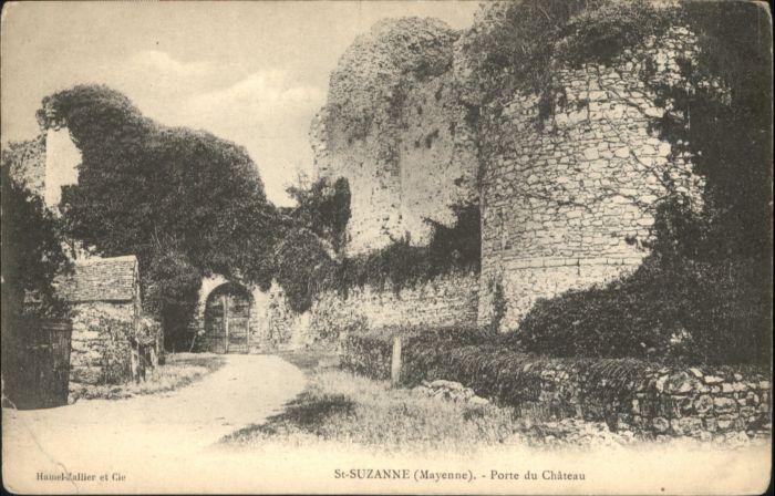 Sainte-Suzanne Porte du Chateau *