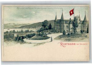 Goldach Goldach Rietberg Restaurant Pension Schloss  * /  /