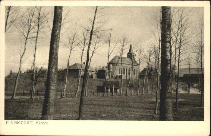 Flamicourt Kirche *
