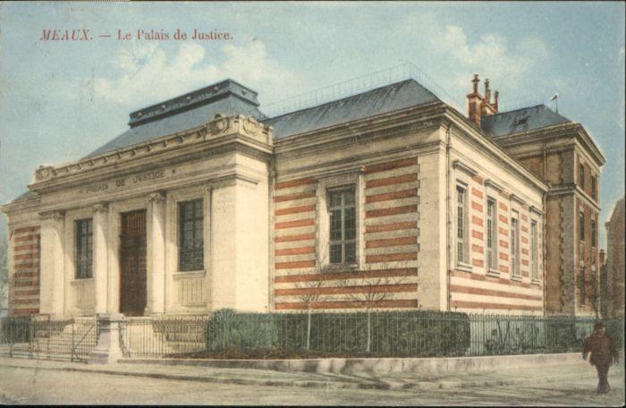 Meaux Palais Justice Justizpalast x