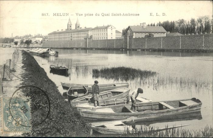 Melun Quai Saint-Ambroise x