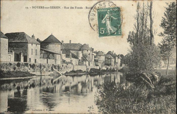 Noyers Rue des Fosses x