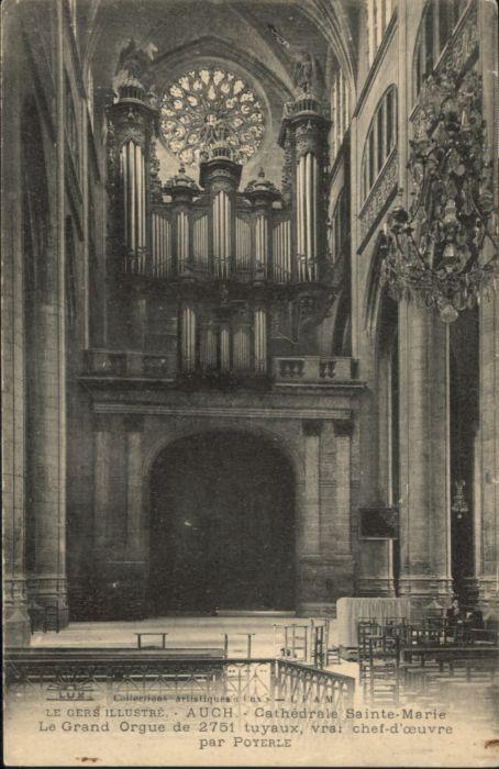 Auch Cathedrale Sainte Marie le Grand Orgue *