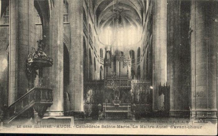 Auch Cathedrale Sainte Marie le Maitre-Autel d'avant-choeur *