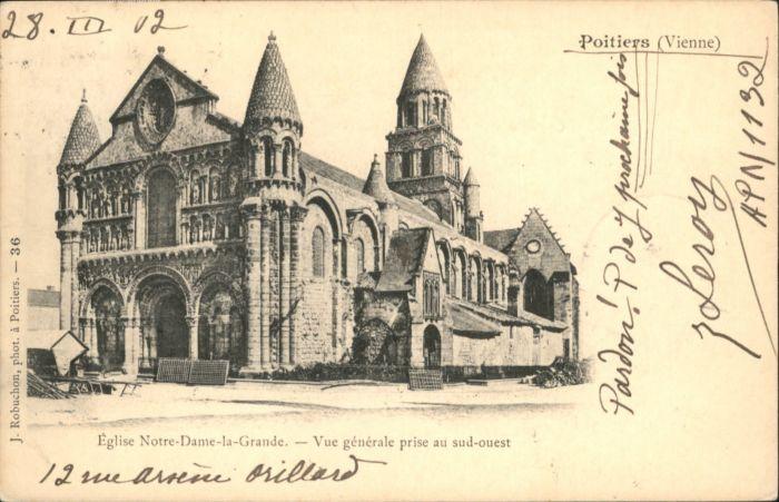 Poitiers Eglise Notre Dame la Grande x