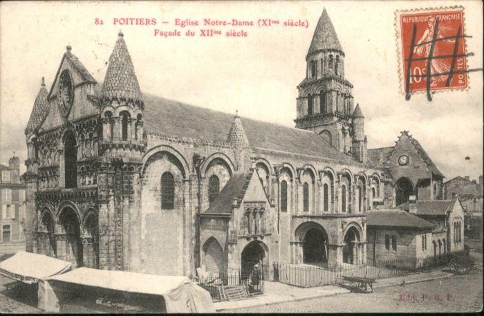 Poitiers Eglise Notre-Dame x