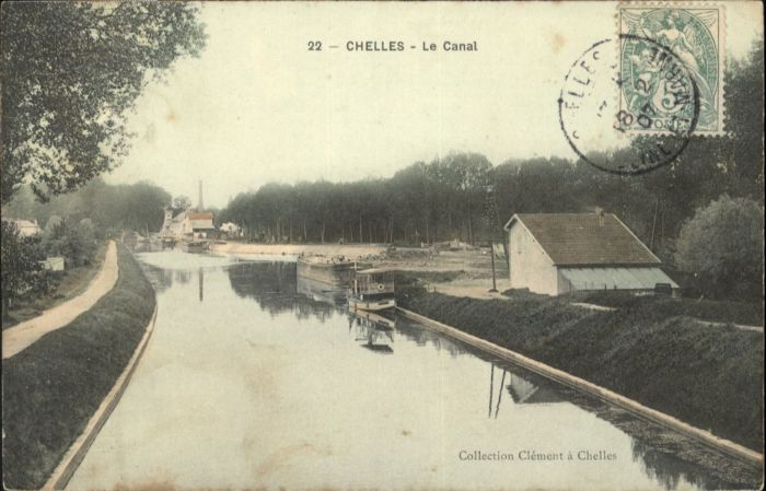Chelles Canal x