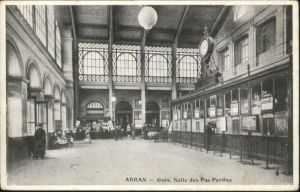 Arras Gare Bahnhof *