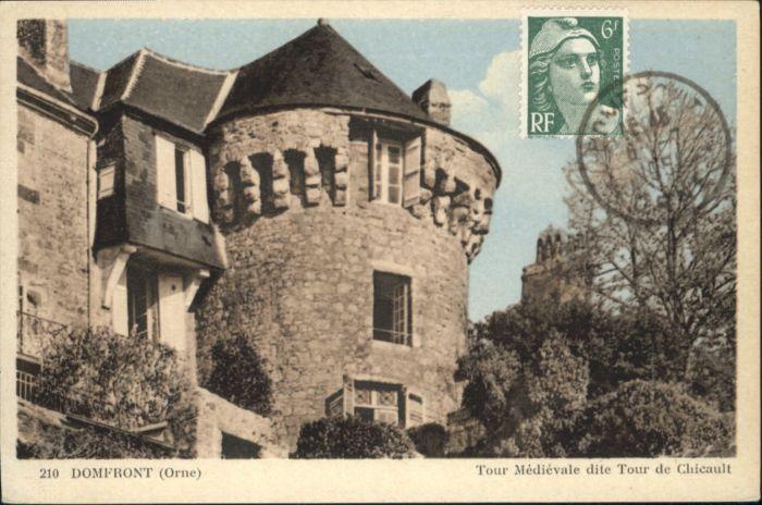 Domfront Orne Tour Medievale Tour Chicault x