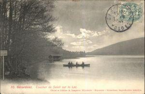 Gerardmer Coucher de Soleil sur le Lac x