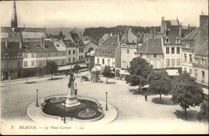 Beaune Place Carnot *