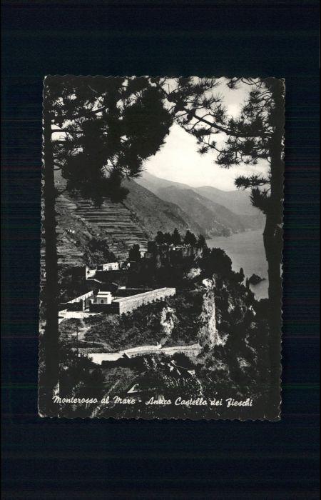 Monterosso Monterosso Castello die Fieschi x / Italien /Italien
