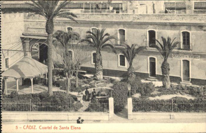Cadiz Cuartel Santa Elena *