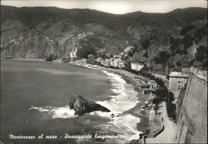 Monterosso Monterosso Passeggiata Lungomare x / Italien /Italien