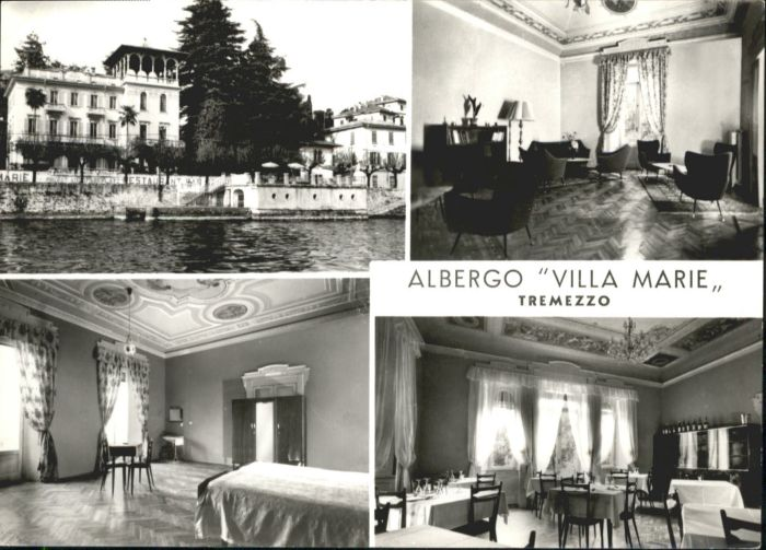 Tremezzo Tremezzo Albergo Villa Marie * / Italien /Italien Nr ...