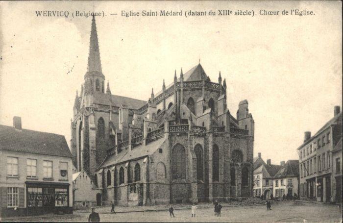 Wervicq Eglise Saint-Medard Choeur Eglise x