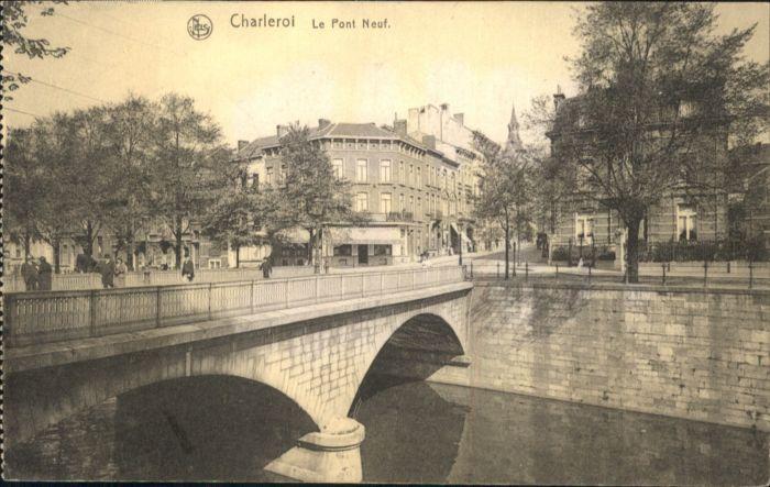 Charleroi Pont Neuf x