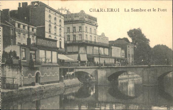 Charleroi Charleroi Sambre Pont * /  /