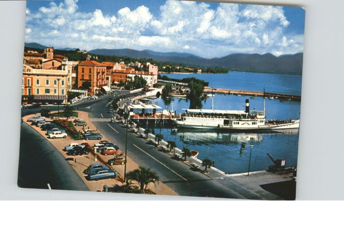 Desenzano del Garda Desenzano del Garda Lago Garda Porto Gardasee Hafen x / Italien /Italien
