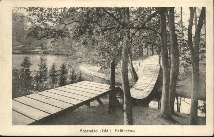 Rosendael Kettingbrug x