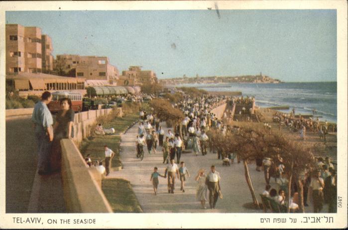 AK / Ansichtskarte Tel-Aviv Tel-Aviv  x / Israel /Israel
