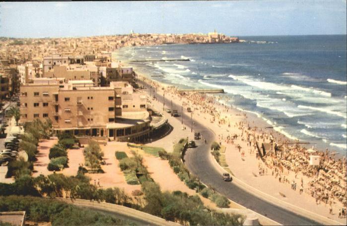AK / Ansichtskarte Tel-Aviv Tel-Aviv  * / Israel /Israel