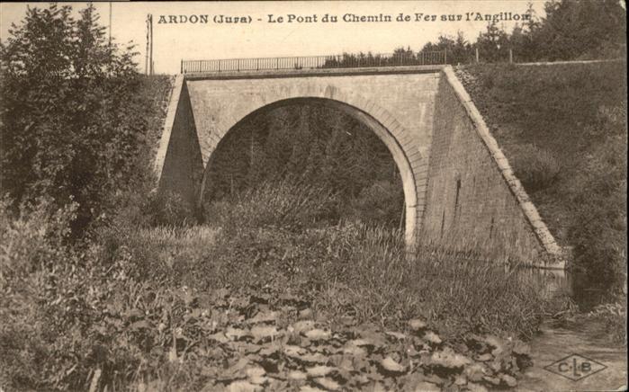 AK / Ansichtskarte Ardon le Pont du Chemin de Fer sur l'Angillon *