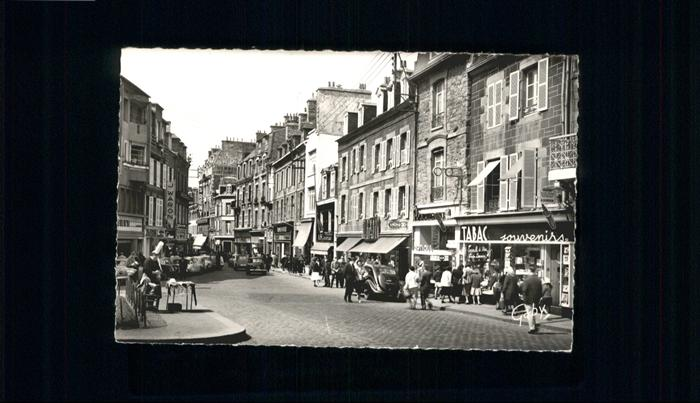AK / Ansichtskarte Saint-Brieuc Rue Saint-Guillaume *