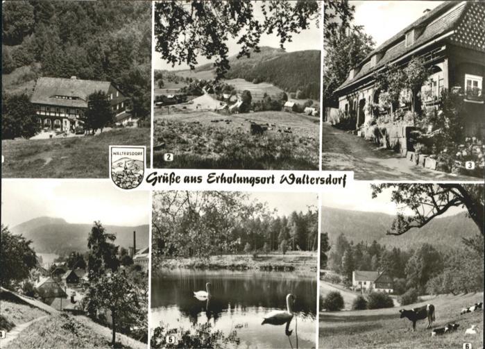 AK / Ansichtskarte Waltersdorf Waltersdorf Grenzbaude Lausche Sorge Teich  * /  /