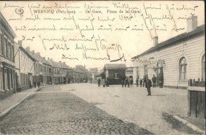 AK / Ansichtskarte Wervicq la Gare Place de la Gare x