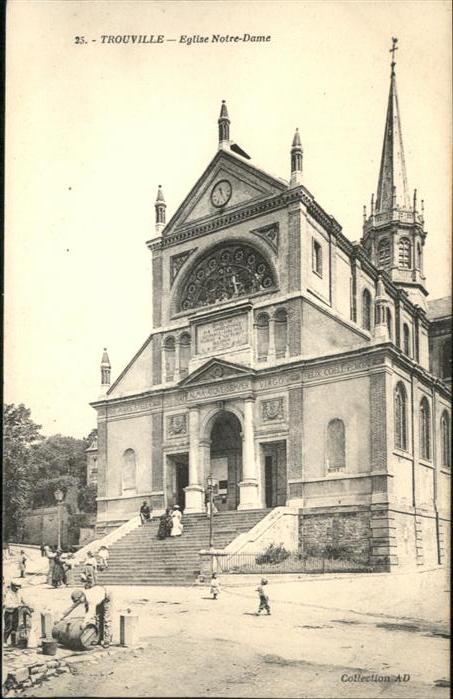 AK / Ansichtskarte Trouville Eglise Notre-Dame *