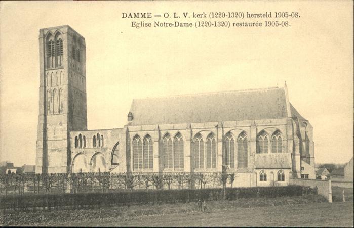 Damme Kerk Eglise Notre-Dame * 0