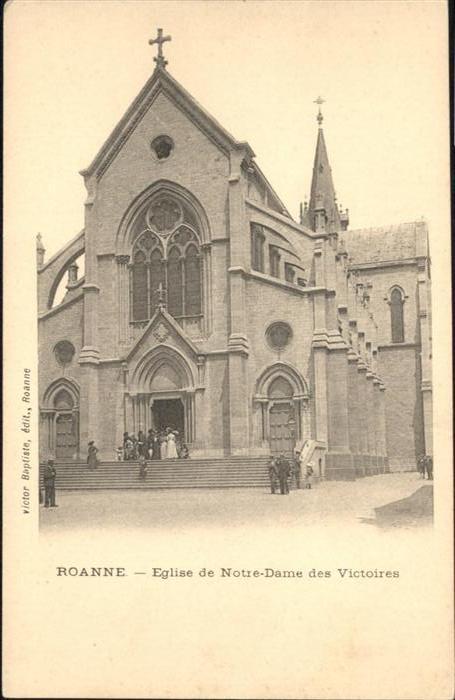 Roanne Eglise de Notre-Dame des Victoires /  /