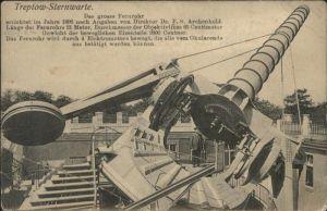 AK / Ansichtskarte Observatorium Treptow Sternwarte Fernrohr