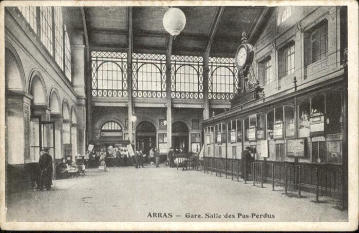 Arras Gare Salle des Pas-Perdus /  /